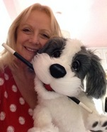 Shirley Ray with bobby dog puppet