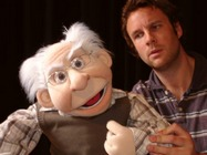 ED puppet in performance of Full House Theatre Company (UK).